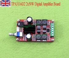 DC 24V TPA3116D2 2x50W Digital Amplifier Board Class D Dual Channel Stereo AMP