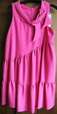 SARA BERMAN CANDY PINK DRESS SIZE L BNWT RRP £245