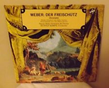 """C M VON WEBER """"DER FREISCHUTZ (Excerpts) - Rudolph Kempe w/Saxon State Orch LP"""