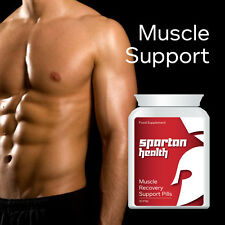 SPARTAN HEALTH MUSCLE RECOVERY SUPPORT PILLS TABLETS GET RIPPED & BIGGER