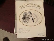 Weddings Song, Collection, voice-piano (Warner Brothers)