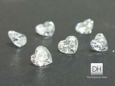 Heart Shape Loose Diamond 0.12 ct. G-H VS2 Christmas Gift Natural Dimonds Deal
