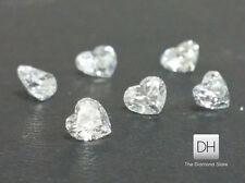 Heart Shape Loose Diamond 0.12 ct. G-H VS2 Christmas Gift Natural Dimonds Deal