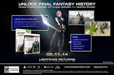Lightning Returns: Final Fantasy XIII Pre-Order Edition (XBOX 360, Square Enix)