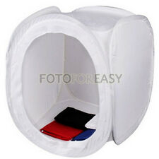"24"" 60 x 60cm Photo Studio Light Shooting Tent Cube Soft Box with 4 Backdrops"