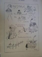 Los jóvenes homosexuales de antaño Rene Bull dibujos animados de impresión de edad 1894 mi ref R
