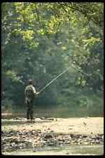 185028 Spring Summer Fly fisherman A4 Photo Print