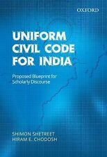 Uniform Civil Code for India : Proposed Blueprint for Scholarly Discourse by...