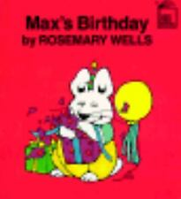 Max's Birthday (Max and Ruby)-ExLibrary