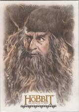 "The Hobbit Desolation of Smaug - Bob Stevlic ""Radagast"" Sketch Card"