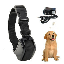 Rechargeable Small Medium Ultrasonic Anti No Bark Barking Dog Training Collar