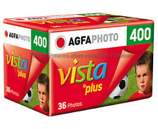 5 Rolls AGFA vista Plus color 35mm/135 Film 36exp 400iso Print DX Fresh