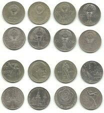 Russia / Soviet Union - 8 x 1 Rouble - 1965 - 1985 _ 8 different type coins