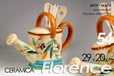 CONTENITORE PORTA MESTOLI IN CERAMICA DECORO FLORENCE 29*20 CM HON-563478