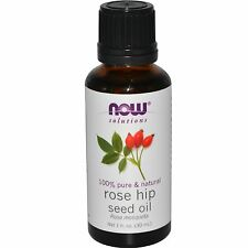 Rose Hip Seed Oil (100% Pure), 1 oz - NOW Foods Topical Oils