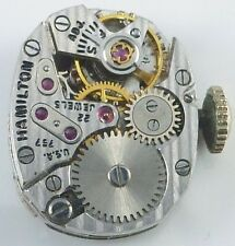 Vintage Hamilton 757 Mechanical Wristwatch Movement  - Parts / Repair