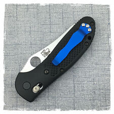 New Blue Titanium Pocket Clip for Benchmade 710 Osborne Emerson CQC7 Griptilian