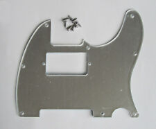 Mirror Tele Humbucker Guitar Pick Guard Scratch Plate w/ Screws for Telecaster