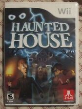 Nintendo Wii Haunted House (Manual, box and game)