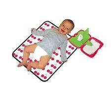 B.Box Pieghevole Baby Travel cambiando MAT KIT CHERRY Design pannolino e pulire Storage