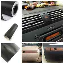 Car SUV Interior Accessories Console Dashboard Carbon Fiber Vinyl Wrap Sticker