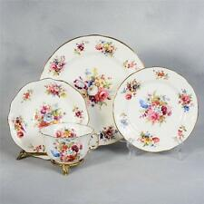"HAMMERSLEY ""MINUET"" - SET#3  TEACUP, SAUCER & 2 PLATES"
