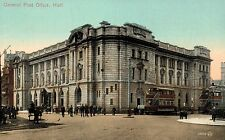 Hull,U.K.General Post Office,Trolley Cars,Yorkshire & Humber,c.1909
