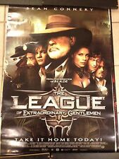 THE LEAGUE OF EXTRAORDINARY GENTLEMEN MOVIE POSTER. SEAN CONNERY
