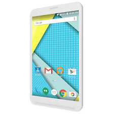 "8"" Smartphone Phablet Tablet 4G GSM Unlocked Dual SIm Quadcore Android 5.1 White"