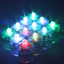 24 x LED Waterproof Wedding Xmas Flameless Candles RGB Color Change Tea Lights