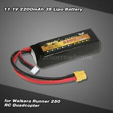 11.1V 2200MAH 3S LIPO BATTERY FOR WALKERA RUNNER 250 RC QUADCOPTER US E9K5