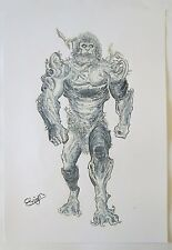 ORIGINAL  ART PLAYING ROL GAME XANAGENIS ORIGINAL DRAWING BY ROGER BONET