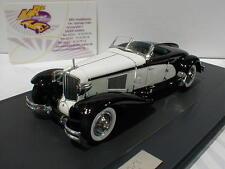 """Matrix 50307-011 # Cord L-29 Speedster Brook Baujahr 1930 """" schwarz-weiß """" 1:43"""