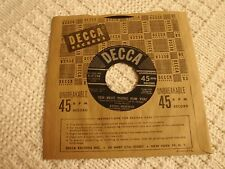 ETHEL MERMAN THE BEST THING FOR YOU/MARRYING FOR LOVE DECCA  27316 M-