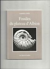 Fossiles du plateau d'Albion Gabriel Conte Les Alpes de Lumière REF E10