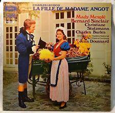 Charles Lecocq La Fille de Madame Angot Mady Mesple Bernard Sinclair 2-LP NM