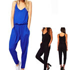 New Women Sexy Clubwear Jumpsuit Romper Sleeveless Evening Party Cocktail Black