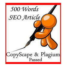 500 Words Unique & Quality SEO Optimized Article Writing Service with Bonus!!!!!