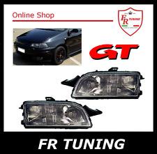 FIAT PUNTO GT 1 MK1 (176) 93 99 FARI FANALI ANTERIORI NERI