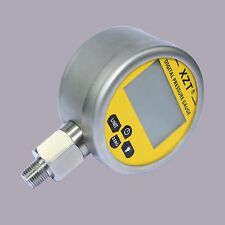Hydraulic Digital Pressure Gauge-80mm-400BAR/6000PSI(NPT1/4) -Base Entry