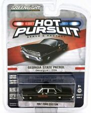 `67 Ford Custom POLICE Georgia State Patrol USA 1967**Greenlight 1:64 OVP