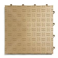 BEIGE- Pack of 30- GarageTrac Diamond Garage Floor Tile
