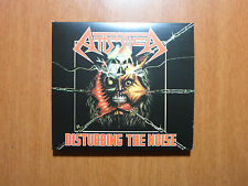 Attomica - Disturbing the Noise RARE Braz 80´s Thrash OOP Official DIGI