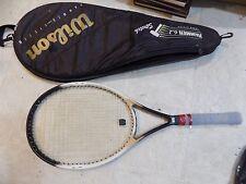 """Wilson Dual Taper Beam Hammer System 6.2 Tennis Racket 4 1/2"""" Racquet"""