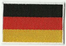 écusson ECUSSON PATCHE PATCH THERMOCOLLANT DRAPEAU ALLEMAGNE 7 X 5  GERMANY