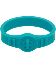 MARC BY MARC JACOBS NWT Rubber Silicone Turnlock Bracelet TURQUOISE M000482