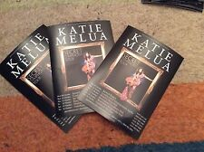 KATIE MELIA- SECRET SYMPHONY UK TOUR 2012- CONCERT FLYERS X 3