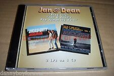 Jan & Dean 2 LPs on 1 New CD Drag City Jan & Dean's Pop Symphony No. 1 One Way