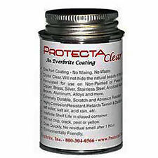 4 oz Can ProtectaClear Metal Sealing Lacquer Anti-Tarnish/ Brass/Copper/ Silver