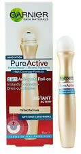 15ml Garnier Pure Active (Acno Clear) Anti Spot Roll On Cooling Acne Tinted 2016